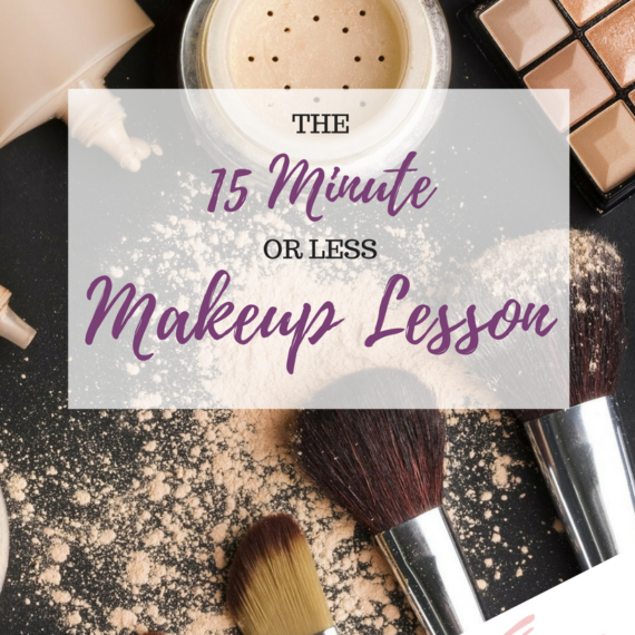 The 15 Minute or less Makeup Lesson